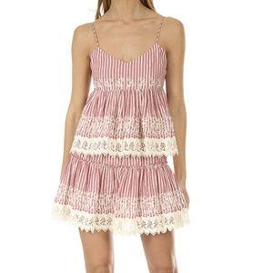NWT MISA Pink Skirt and Top Set